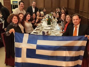 Greek delegation at 19th FEG Annual General Meeting in Dublin, Ireland.