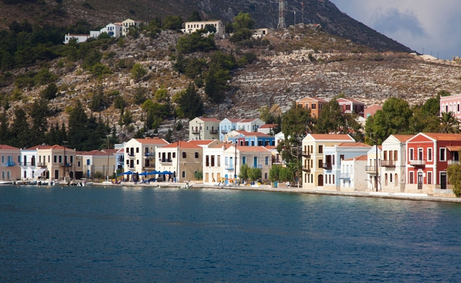 Kastellorizo is among the Greek islands that will revert to increased value-added tax (VAT) rates as of January 1, 2018.