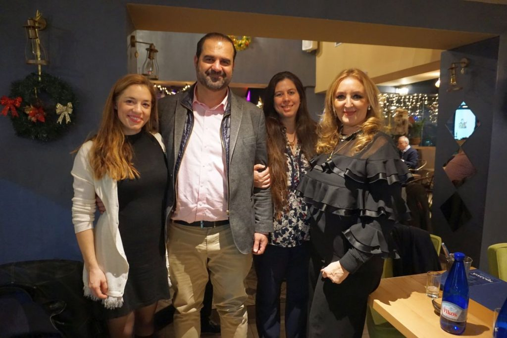 Congress Business Planners is co-organizing the Greek Tourism Workshop 2018 events with Mideast Travel and Tourism Today Events: Elina Argyri (Mideast Travel), Haris Ntigrintakis (Tourism Today), Despoina Ouzouni (Greek Tourism Workshop) and Katerina Mousbeh (Mideast Travel).