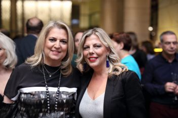 NJV Athens Plaza Managing Director and GM Afroditi Arvaniti (right).