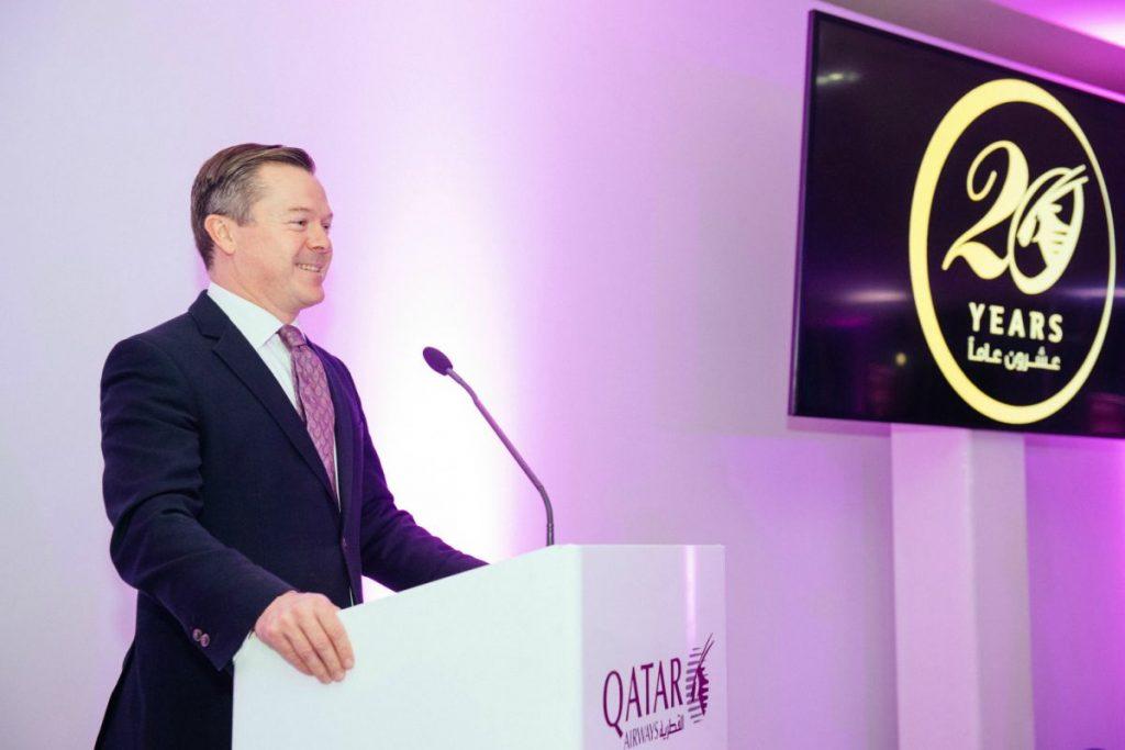 Jonathan Harding, Senior Vice President Europe at Qatar Airways.