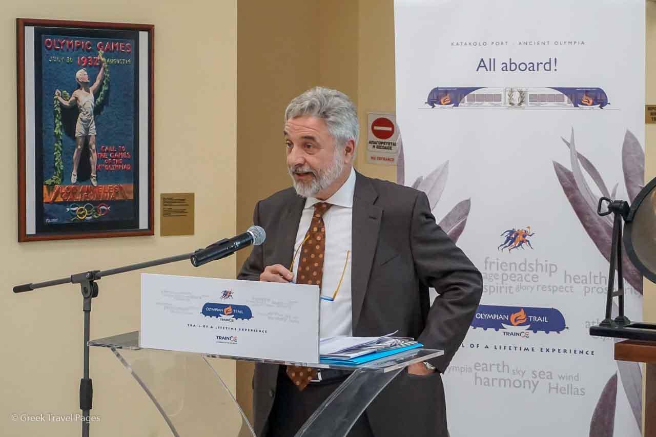 Trainose CEO Filippos Tsalidis.