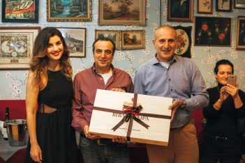 During the event, a draw was held and Nikolas Karapanagiotis, an accountant from Anyland Travel, won a wine collection. He is see here with Ioanna Nomidou, Sales Executive at Virgin Atlantic and Nikos Kapsanis, Sales Executive at Aktina Travel.