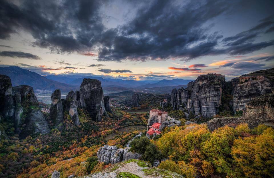Meteora in Thessaly, Greece. Photo Source: @Visit Meteora (Cristian Kirshbom)