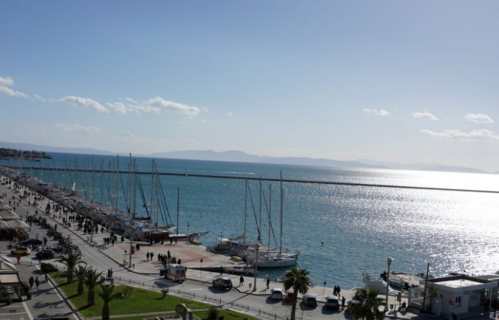 Coastal port city of Volos, Thessaly.