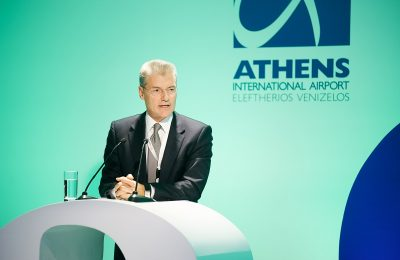 Athens International Airport CEO Yiannis Paraschis.