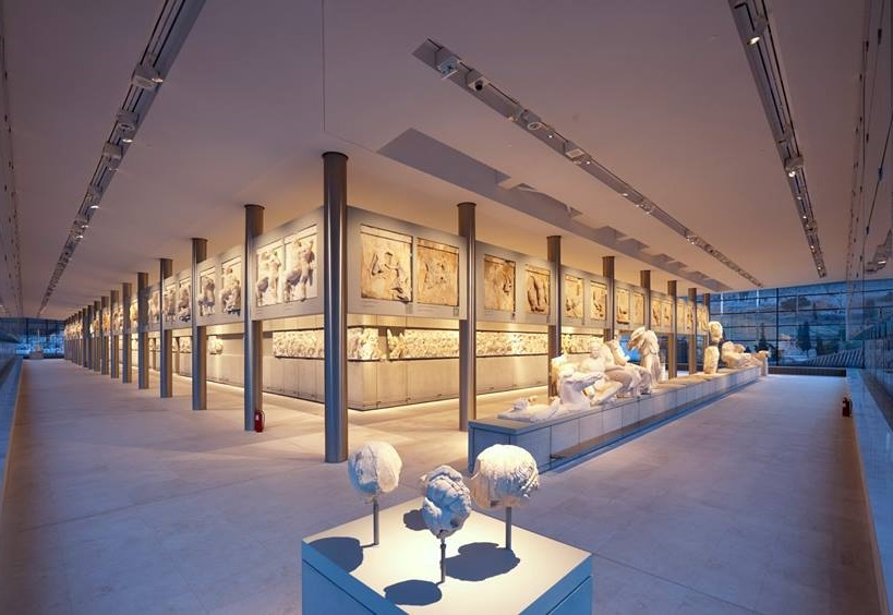 The Acropolis Museum. Photo Source: @Acropolis Museum
