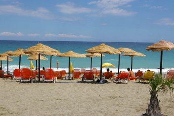 Agiokambos beach. Photo Source: Municipality of Agia
