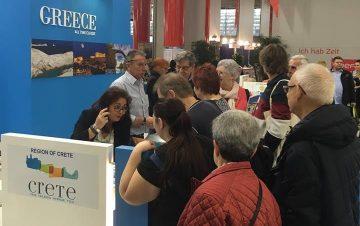 The Region of Crete participated in the Ferien-Messe Wien in Austria.
