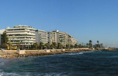 Coastal suburb of Glyfada, southern Athens
