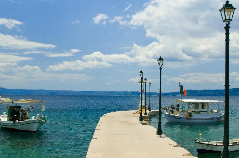 Vourvourou in Halkidiki. Photo Source: Halkidiki Tourism Organization.