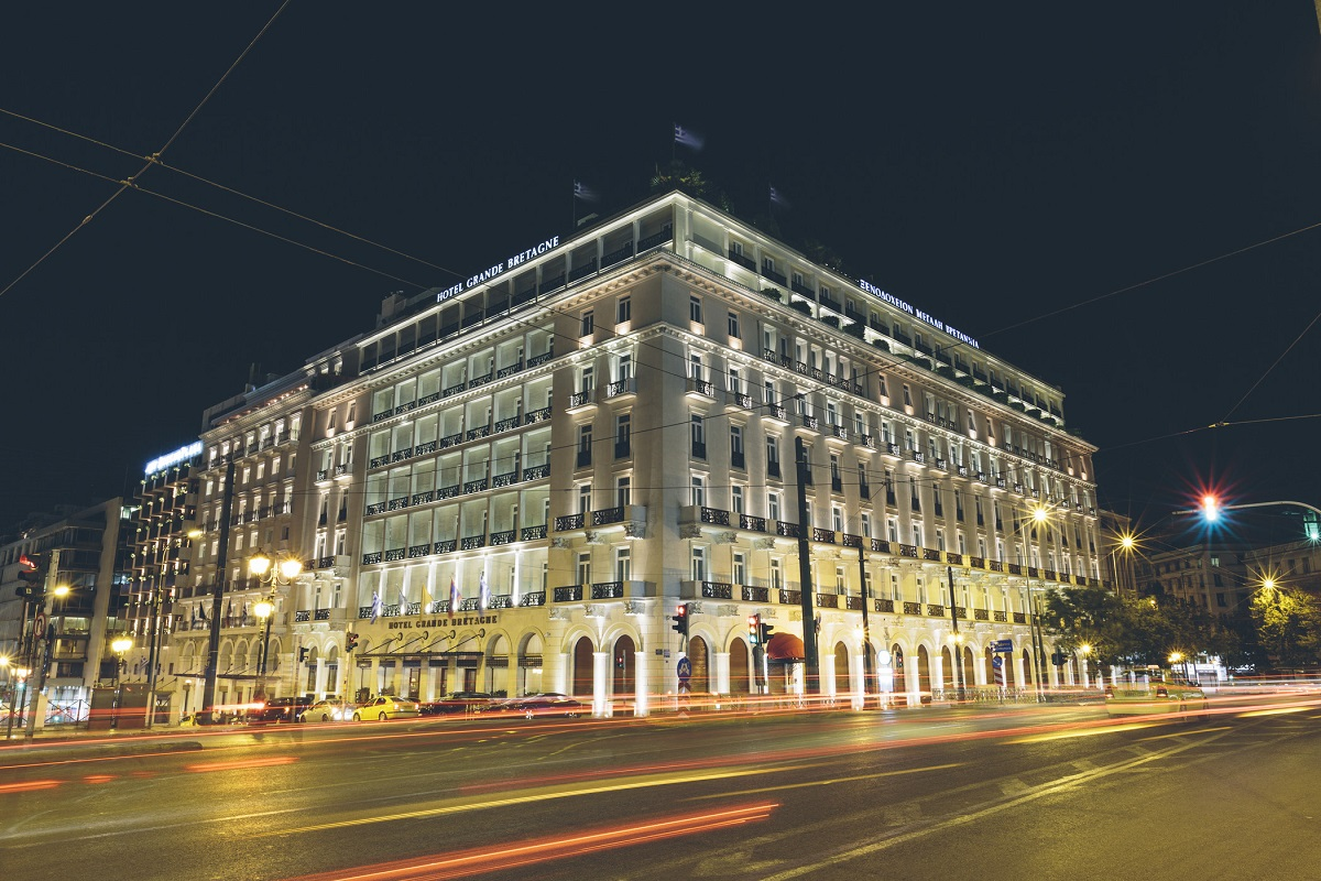 The Hotel Grande Bretagne of Lampsa Hellenic Hotels.