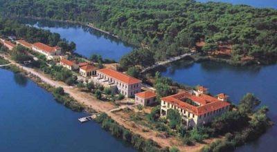Kaiafa Thermal Springs, Kaiafa Lake. Photo Source: Hellenic Association of Municipalities with Thermal Springs.