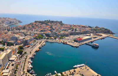 Kavala Port. Photo Source: Kavala Port Authority