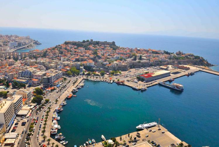 Kavala Port. Photo Source: Kavala Port Authority