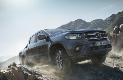 The Mercedez X-Class pickup.