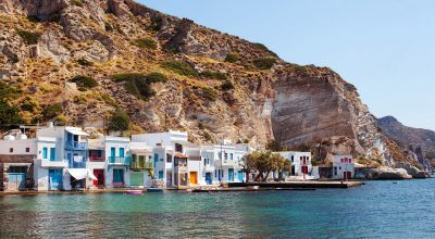 Milos Island. Photo Source: http://likenoother.aegeanislands.gr/