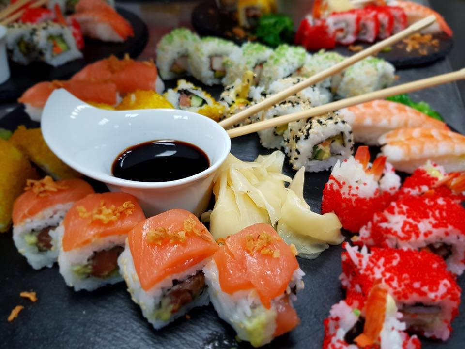 NVJ Athens Plaza sushi nights