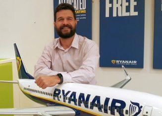 Nikolas Lardis, Ryanair Sales & Marketing Manager Eastern Mediterranean