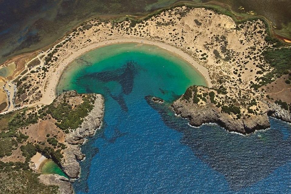Voidokilia Beach, Messinia. Photo Source: @Costa Navarino