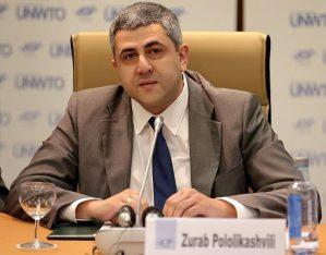 UNWTO Secretary General Zurab Pololikashvili.