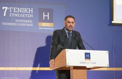 Hellenic Chamber of Hotels President Alexandros Vassilikos.