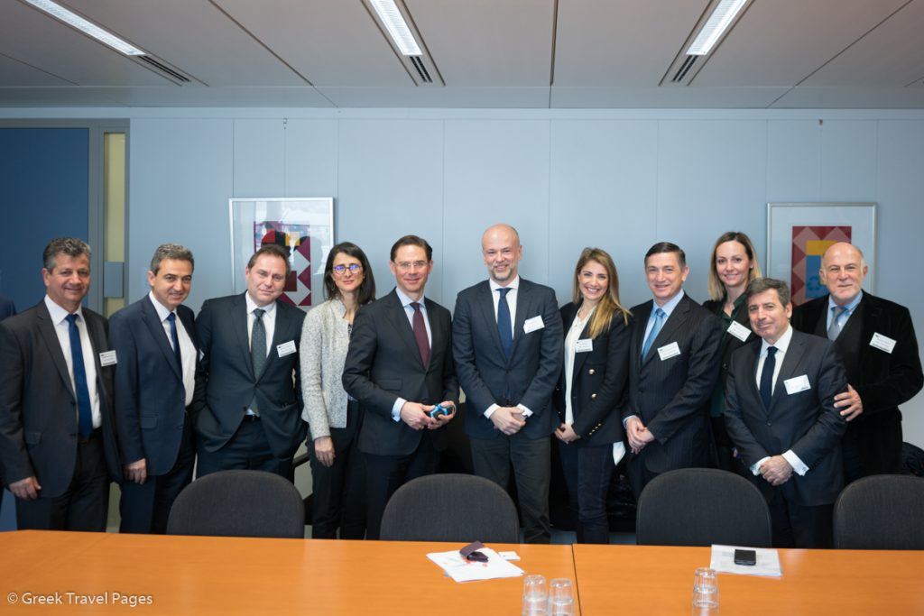 SETE delegation with Jyrki Katainen, the European Commission Vice-President for Jobs, Growth, Investment and Competitiveness.