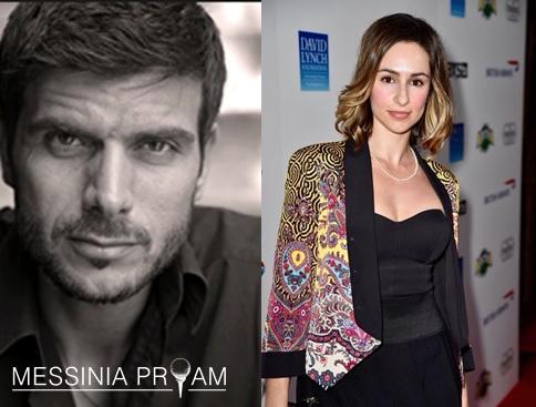 The presenters of the Gala: Manos Gavras and Elena Charbila. Photo @ Messinia Pro-Am