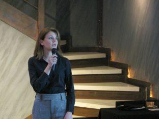 Lilian Moschidou,marketing director of the Athens Tourism Partnership (ATP)