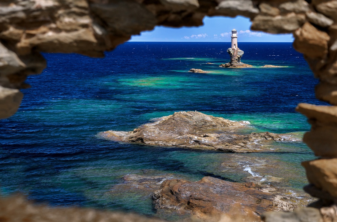 Andros Island. Photo Source: http://likenoother.aegeanislands.gr