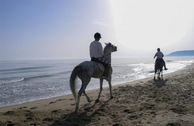 Horse riding on Crete. Photo Source: Incredible Crete (www.incrediblecrete.gr)