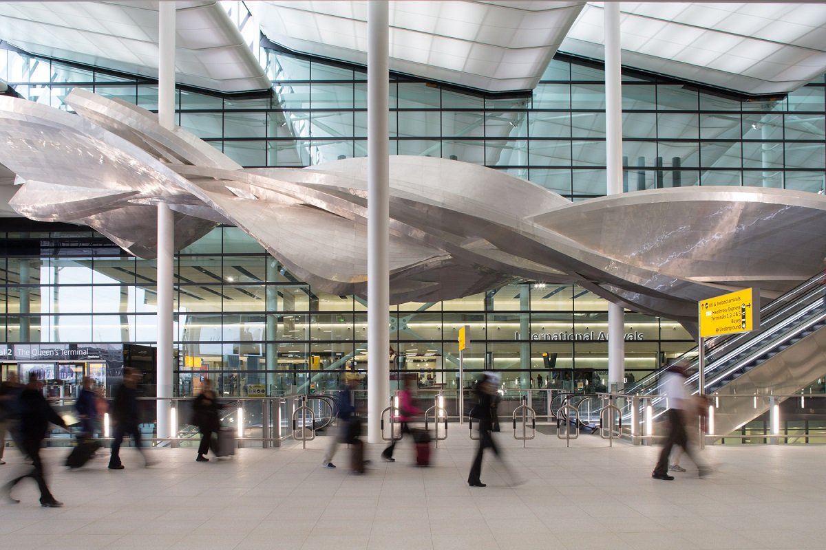 Heathrow Airport. Photo Source: @Heathrow Airport