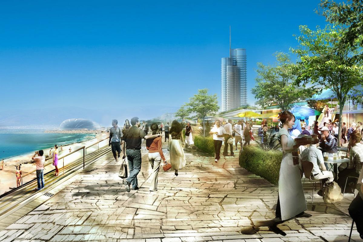 The Hellinikon project. Photo Source: www.thehellinikon.com