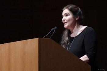 Greek Culture Minister Lydia Koniordou