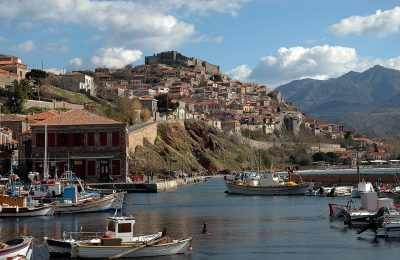 Molyvos, Lesvos Island. Photo Source: www.theotheraegean.com