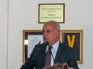 The president of the Kalymnos Hoteliers Association,Nikolaos Tsagkaris.