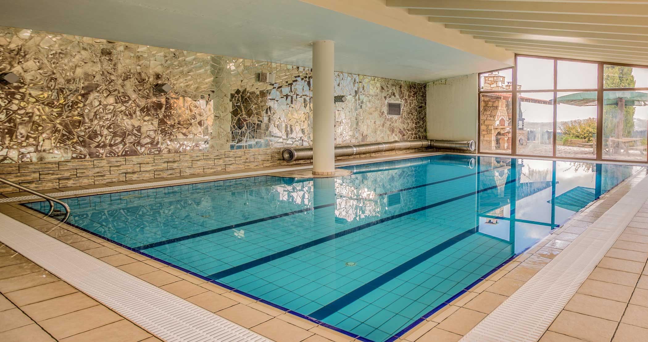 Skamnos Boutique Hotel indoor pool