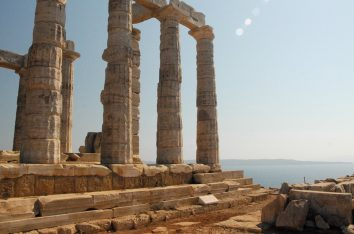Temple of Poseidonm, Sounion. Photo Source: http://www.athensattica.gr