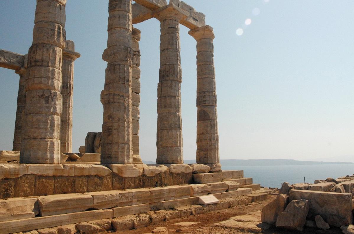 Temple of Poseidonm, Sounion. Photo Source: http://www.athensattica.gr