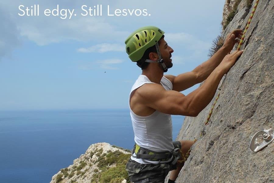 Photo Source: @Lesvos The Other Aegean (original photo by Kostas Mougkolias - Lesvos Climbing & Trekking Club)