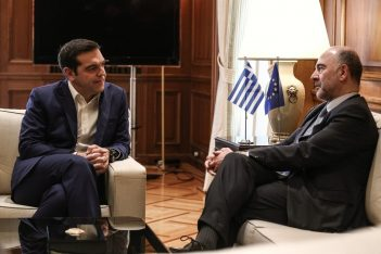 Alexis Tsipras, Pierre Moscovici