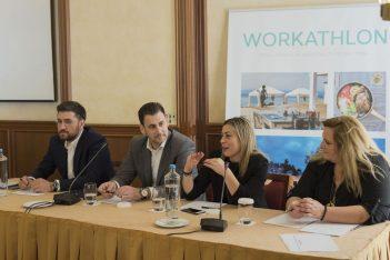 HR PANEL: Menelaos Bokeas, Sotiris Laskaridis, Maria Frantzikinaki and Elena Gkika.