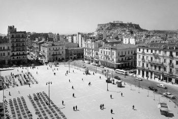 Dimitrios Harissiadis View of the Syntagma Square, 1956