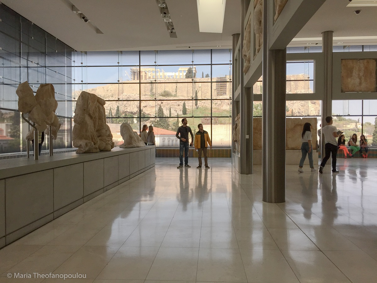 The Acropolis Museum © Maria Theofanopoulou