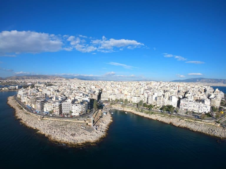 Athens' coastal area. Photo Source: Wanderlust Greece