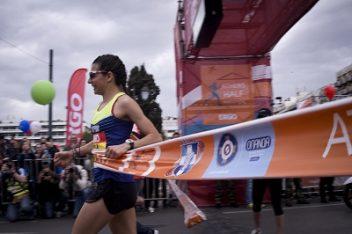 Athens Half Marathon 2018 winner (womans category): Eleftheria Petroulaki. Photo © Athens Half Marathon