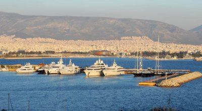Faliro Bay, Athens. Photo Source: Greek Marinas Association