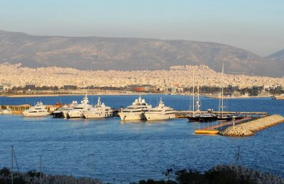 Faliro Bay, Athens. Photo Source: Greek Marinas Association
