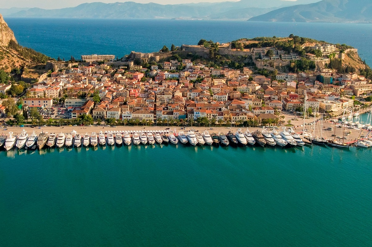 Nafplio, Greece. Photo Source: @Greek Yachting Association