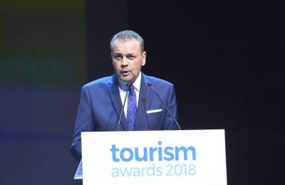 HotelBrain CEO Konstantinos Zikos.